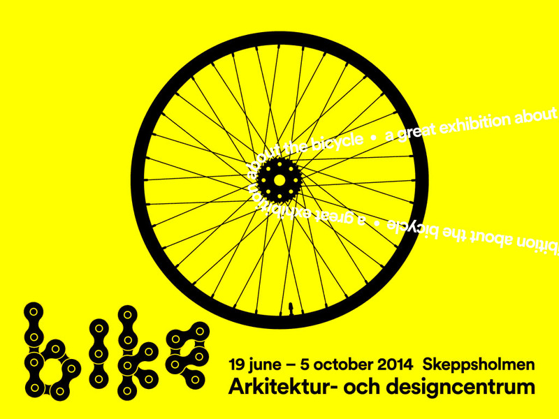 bikes, an exhibition with and about the bicycle