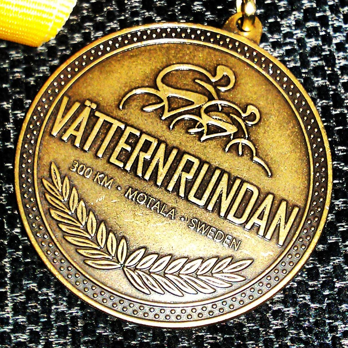 Vätternrundan, medal