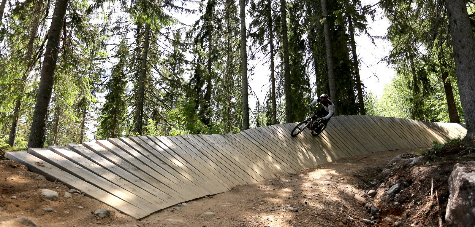 Wall ride, Järvsö
